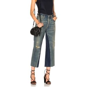 NEW Citizens of Humanity Cora Crop Relaxed Shadow Inseam Jeans